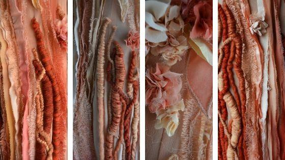tessuto in tinte naturali